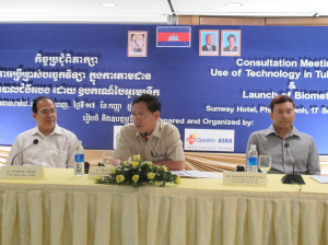 Technical Consultation Meeting Organized by OpASHA (Cambodia)