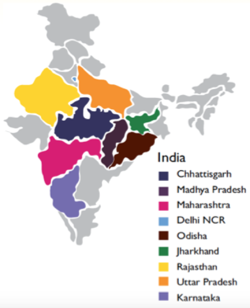 map of india treatment centers