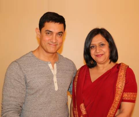 Dr. Shelly with Amir Khan
