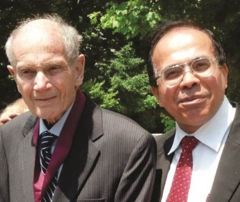 Dr. Sandeep with James Cronin